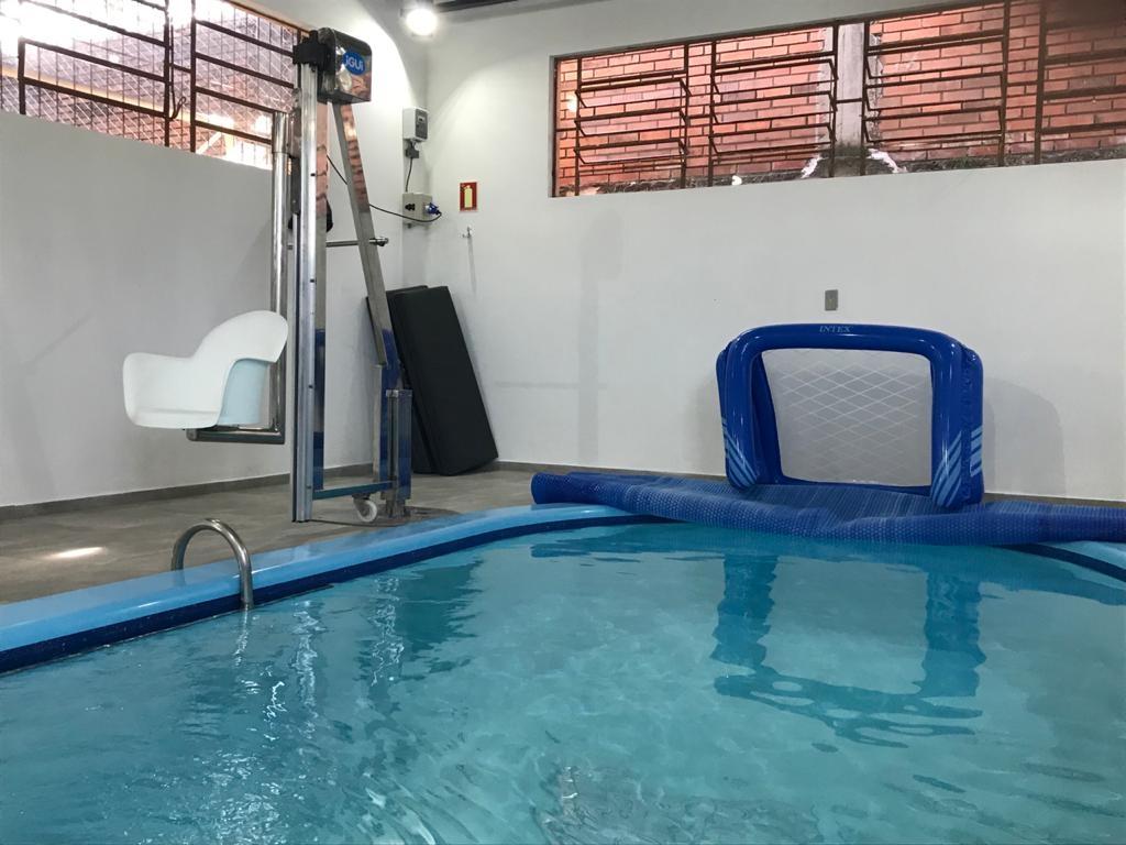 Equipamento auxiliará nos atendimentos de fisioterapia aquática Foto: Lilian Moraes