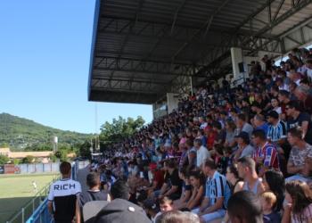 A exemplo do primeiro jogo em casa, clube contava com presença da torcida nos próximos jogos da competição Foto: Matheus  e Oliveira
