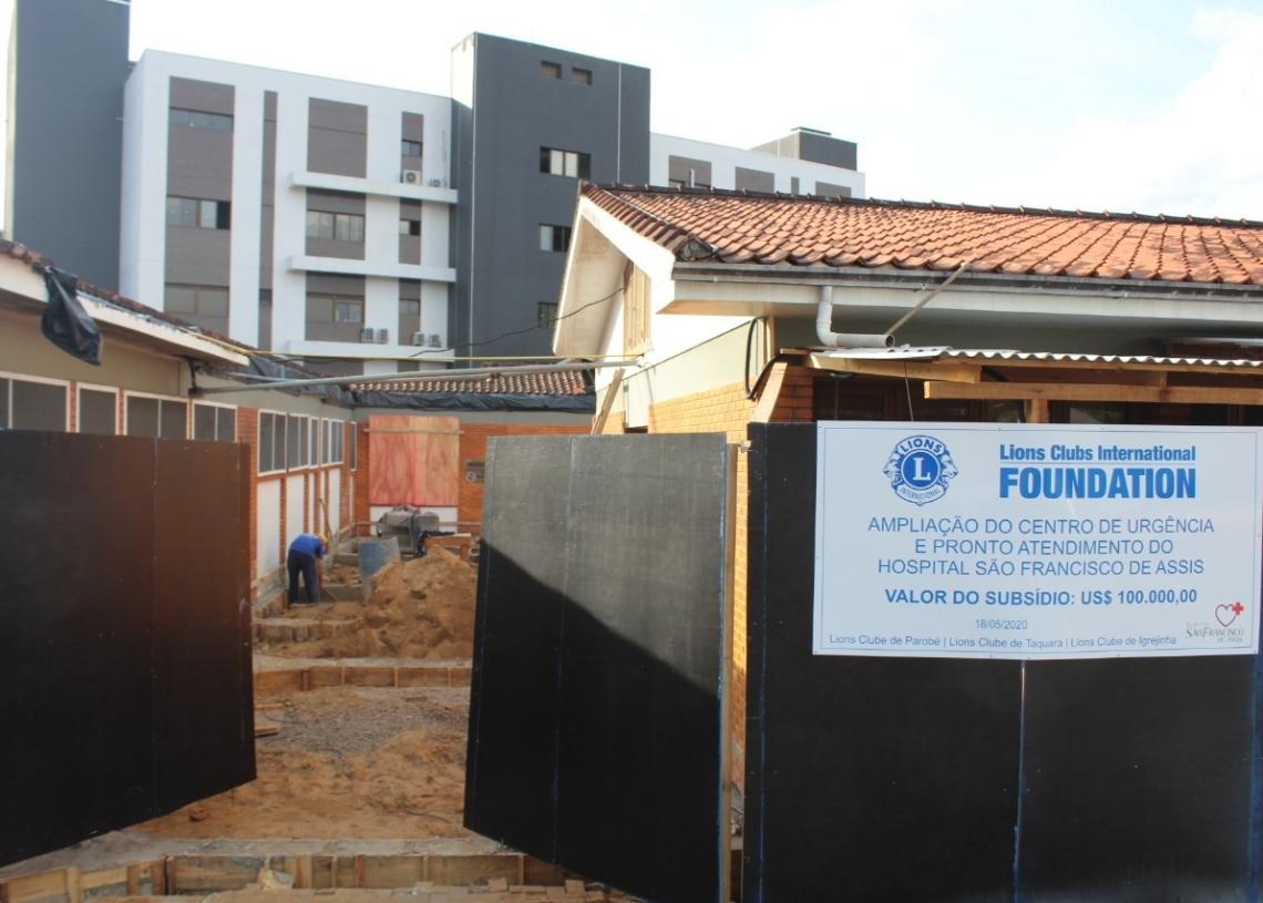 Estrutura do centro de urgência e pronto atendimento da casa de saúde será totalmente remodelada Fotos: Lilian Moraes