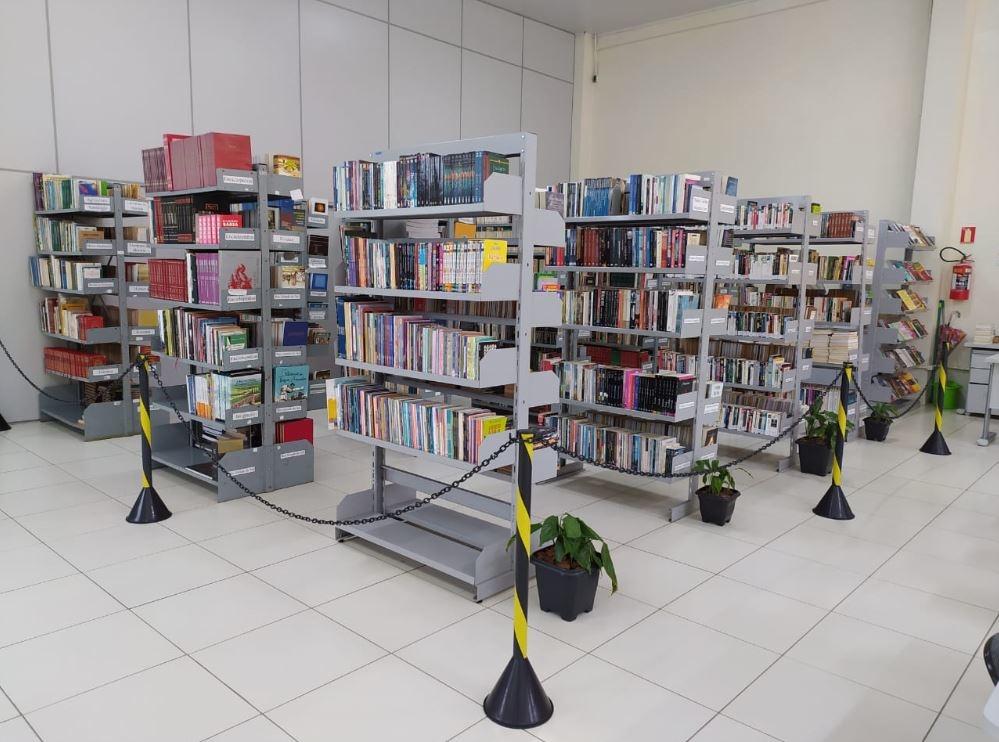 Espaço estava fechado desde março Foto: Biblioteca Municipal Rui Barbosa/Divulgação