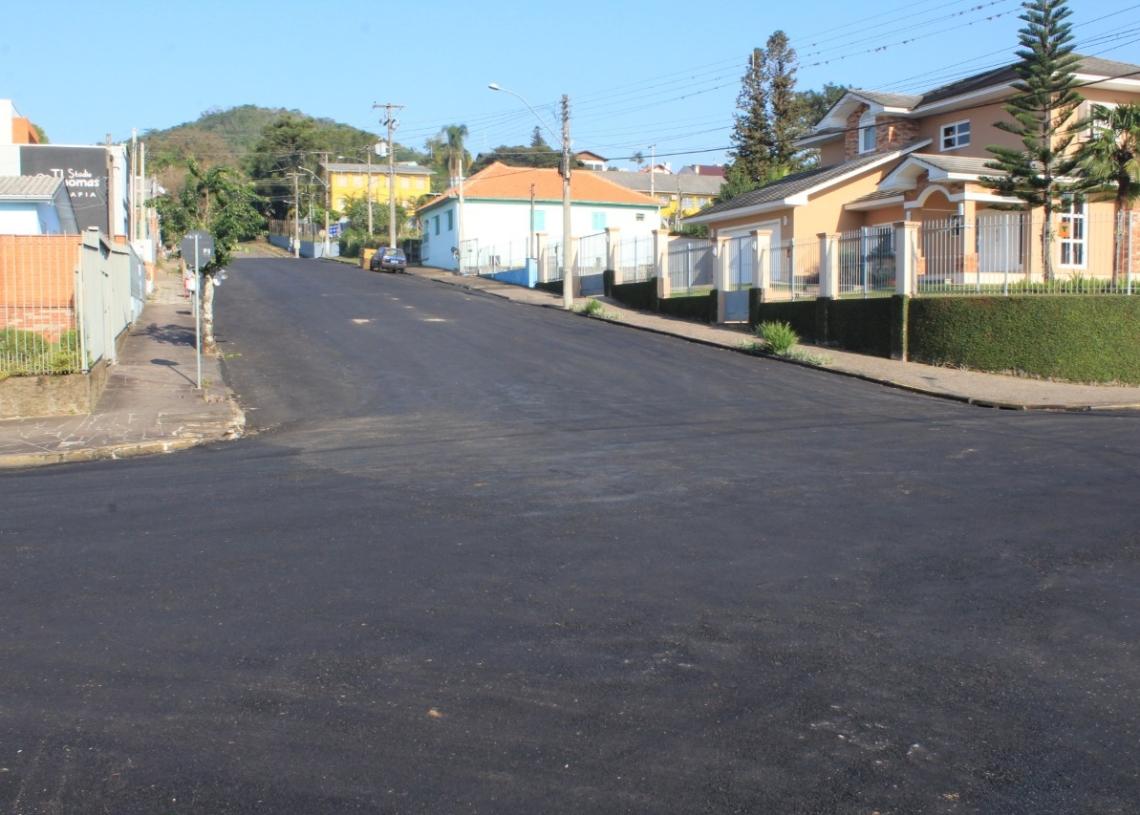 Rua João Mosmann Sobrinho, no Centro Foto: Matheus de Oliveira