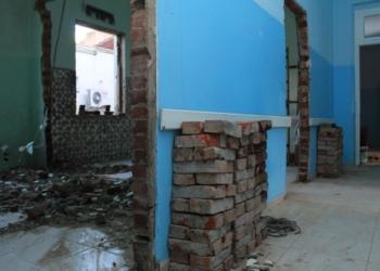 Adequações vão habilitar seis novos banheiros na enfermaria, com um em cada quarto Fotos: Matheus de Oliveira