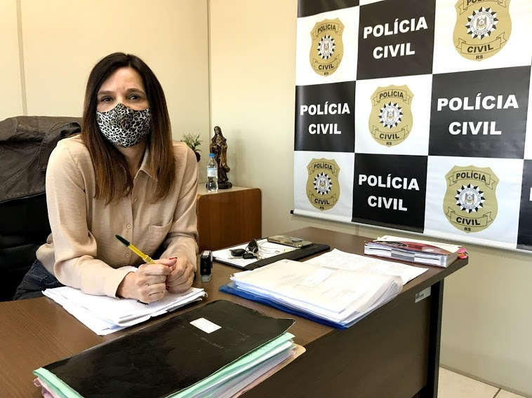 Delegada Rosane tem 21 anos à frente da PC | Foto: Melissa Costa