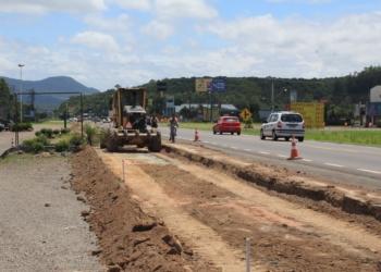 Obras iniciaram no dia 13 de janeiro e devem seguir até março. Fotos: Matheus de Oliveira