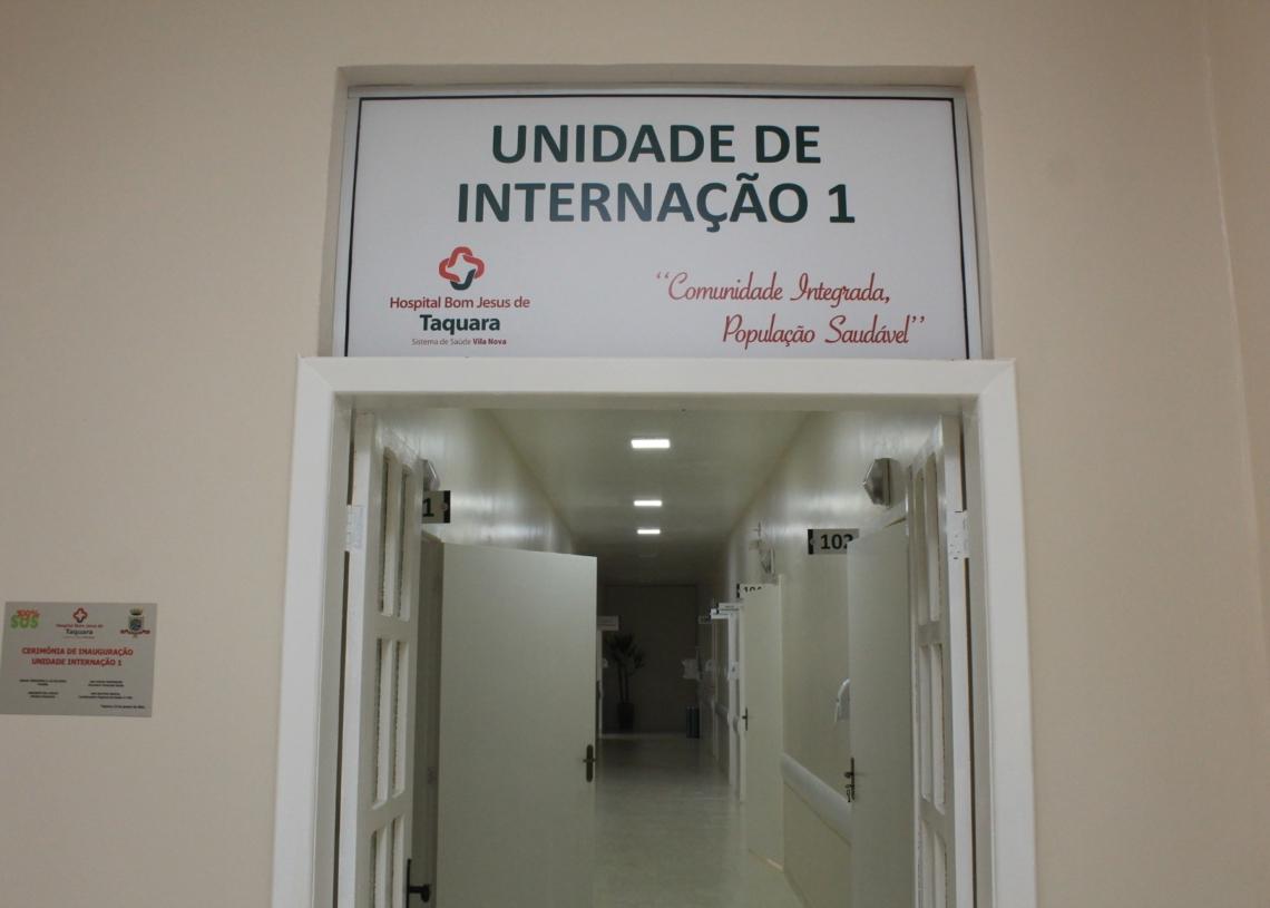 Espaço inaugurado conta com seis quartos e novo posto de enfermagem. Fotos: Matheus de Oliveira