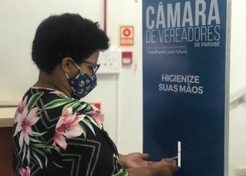 Novas medidas foram adotadas pelo Legislativo e publicadas em resolução na tarde desta quarta-feira (24) Foto: Eduarda Rocha/Assessoria de Comunicação