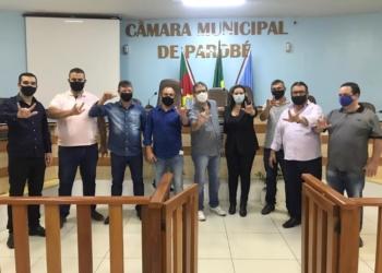 Vereadores e servidores acompanharam a palestra do ex-parlamentar e ativista Tibiriçá Maineri Foto: Eduarda Rocha/Assessoria de Comunicação
