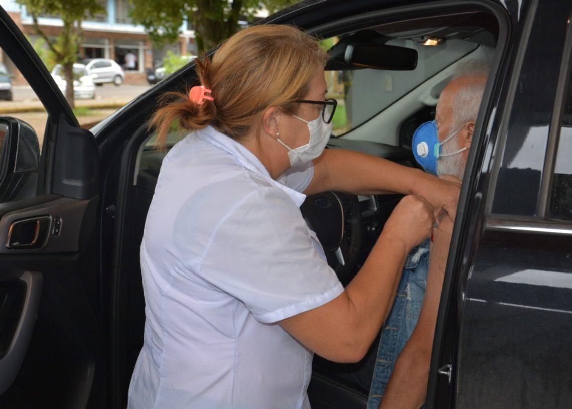 Segunda dose da vacina em Taquara tem abstenção. Créditos: William Coelho