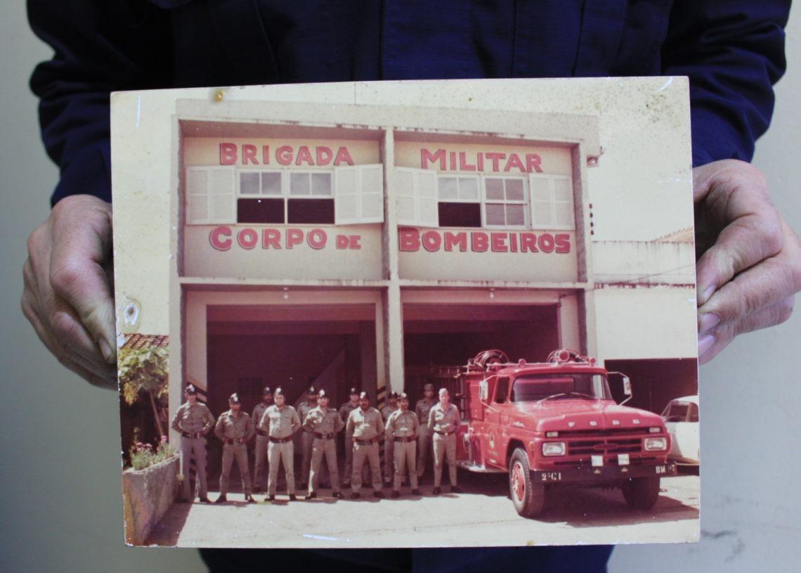 Primeiro prédio dos bombeiros inaugurado na cidade Foto: Lilian Moraes