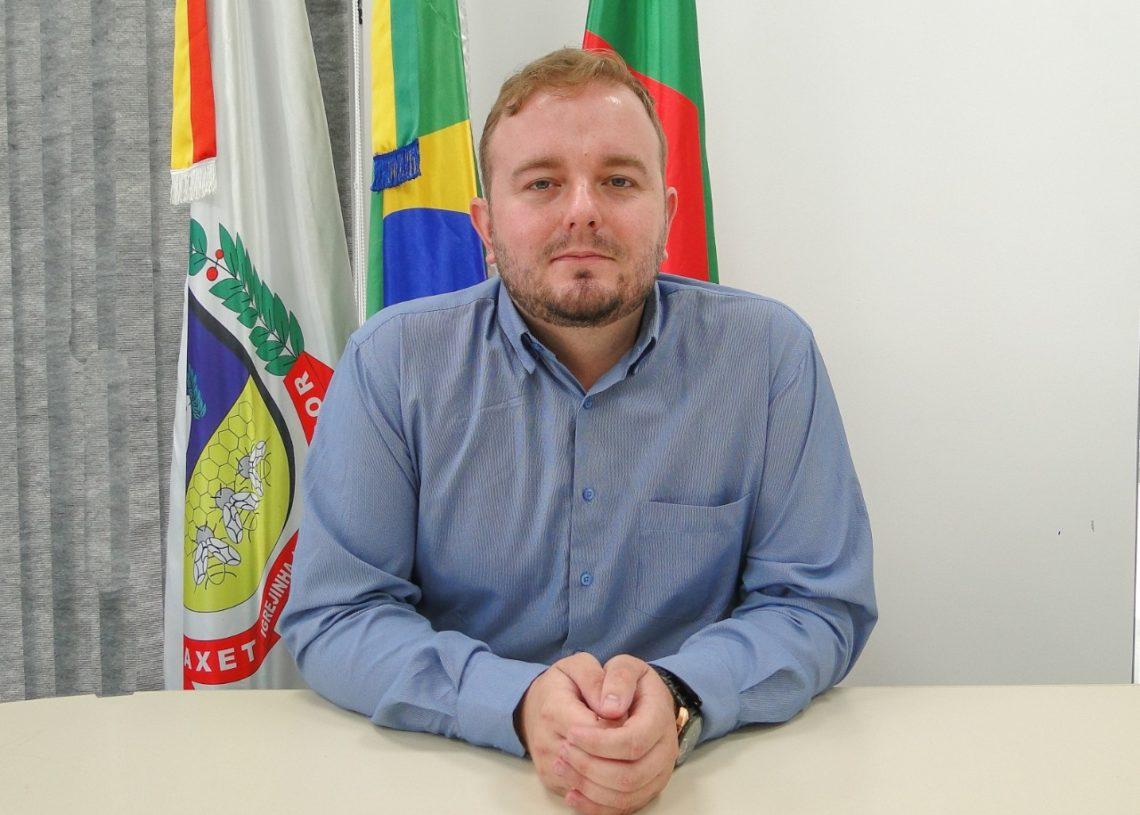 Secretário de Desenvolvimento Social, Mateus Spohr. Foto: Divulgação / Prefeitura de Igrejinha