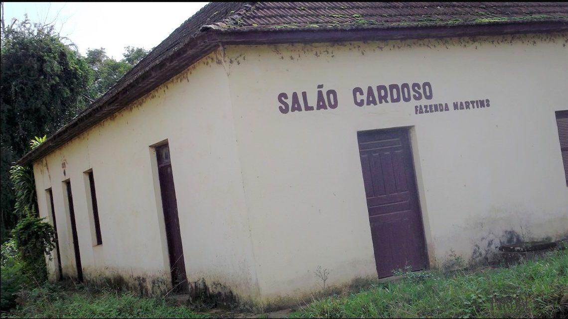 Salão Cardoso, construído em 1924, trouxe diversas memórias em publicação. Foto: Arquivo