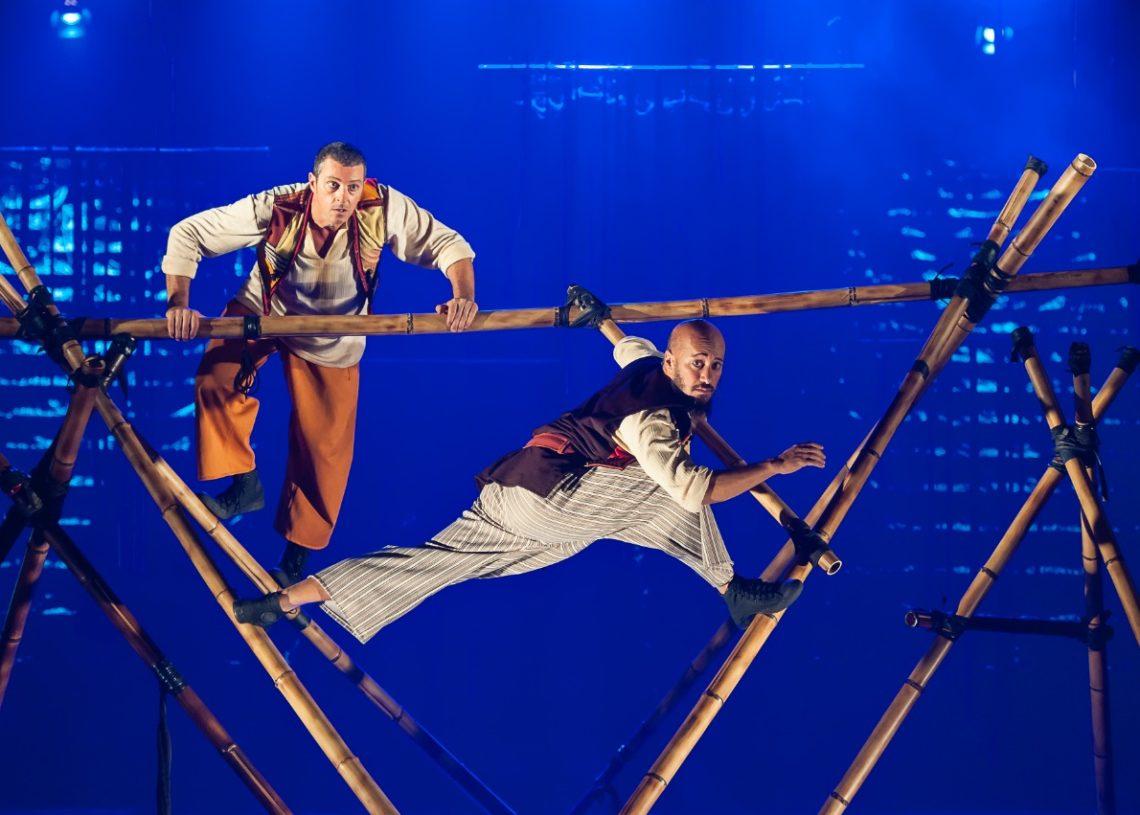 Espetáculo Simbad, o Navegante, do Circo Mínimo, venceu categoria infantil em 2020 Foto: Paulo Barbuto / Divulgação