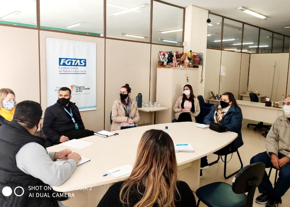 Entidades participaram da reunião Foto: Divulgação