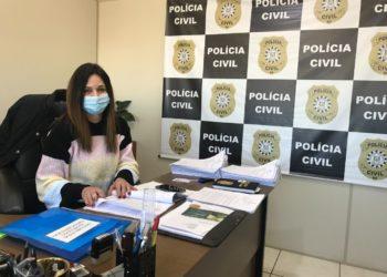 Delegada Rosane está à frente das investigações  (Foto: Melissa Costa)