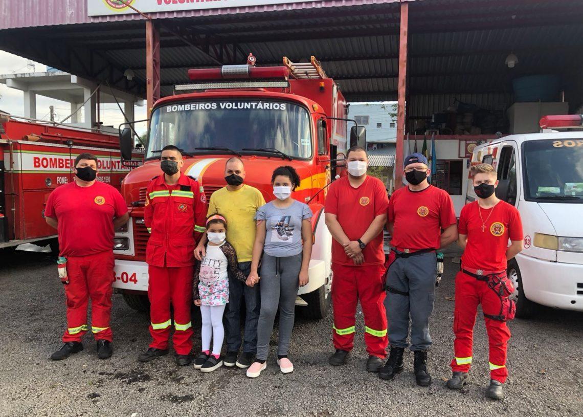 Foto: Bombeiros de Nova Hartz/Divulgação