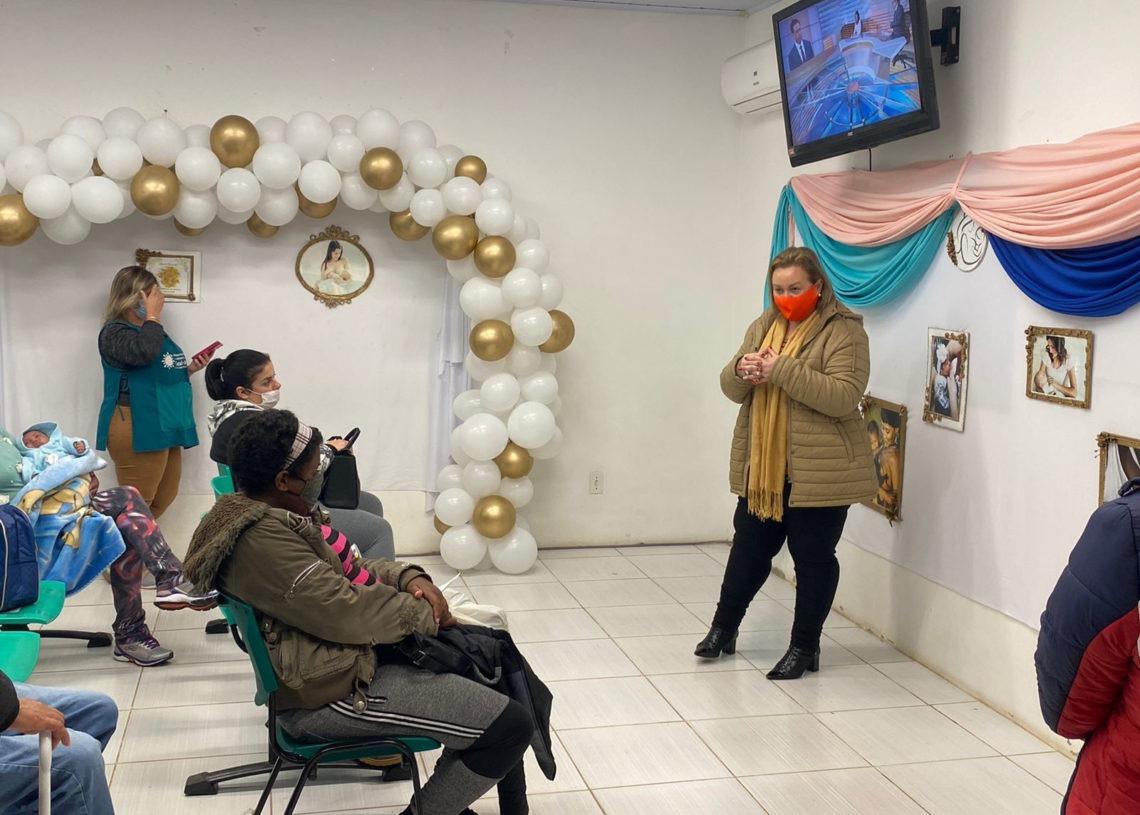 Secretária de Saúde de Taquara, Ana Maria Rodrigues, foi uma das participantes do evento Foto: Divulgação/Prefeitura de Taquara