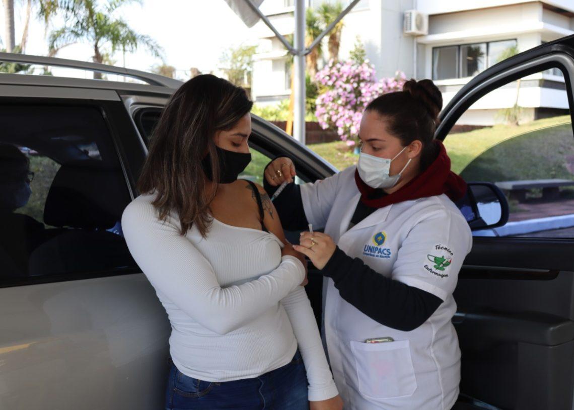 Campanhas dos próximos dias buscam acelerar a imunização no Município Foto: Ruan Nascimento/Prefeitura de Taquara