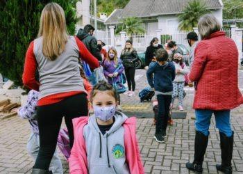 Escolas seguem todos os protocolos recomendados visando o retorno escolar dos alunos Foto: Magda Rabie