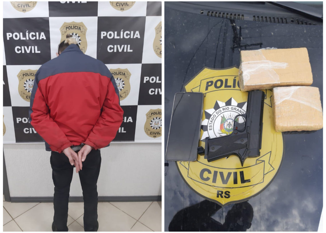 Fotos: Polícia Civil/Divulgação
