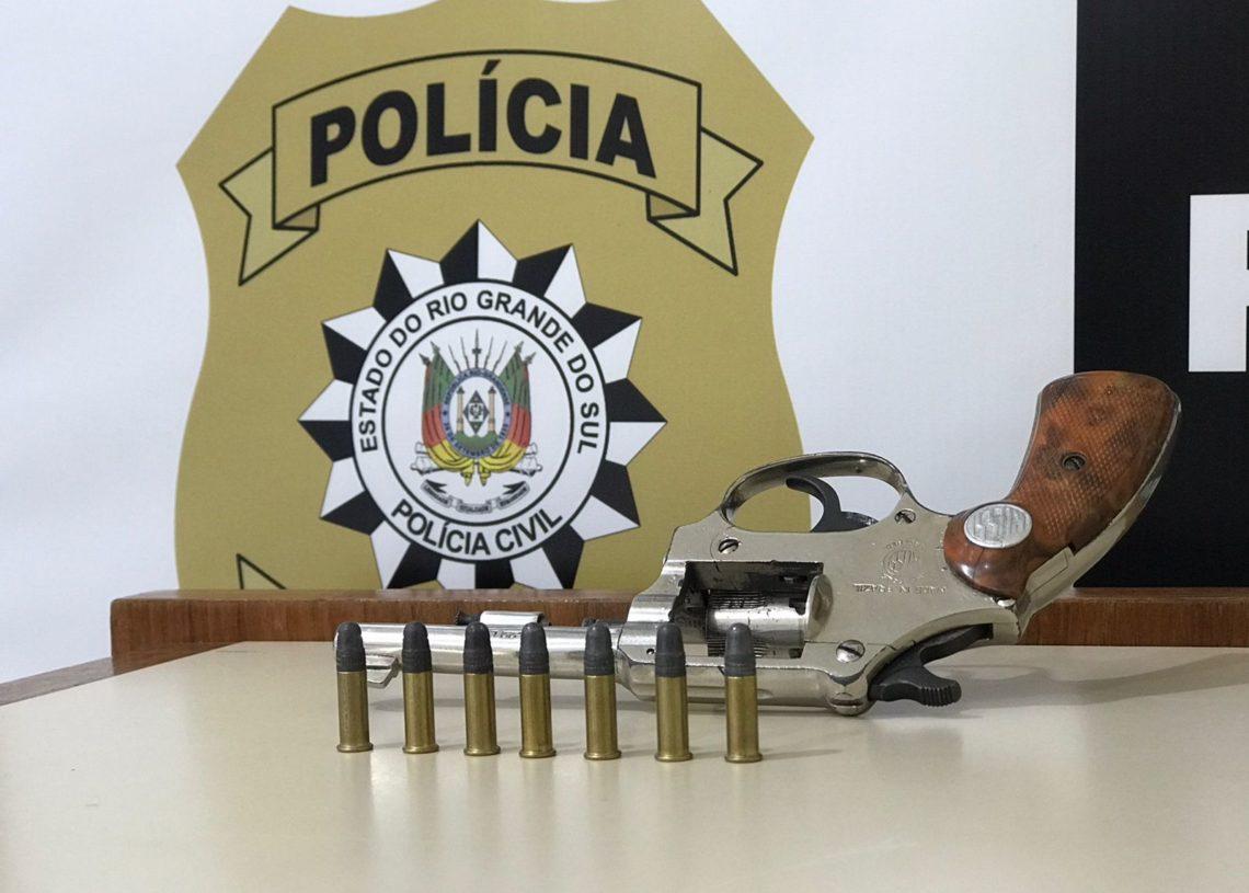 Arma apreendida Foto: Polícia Civil