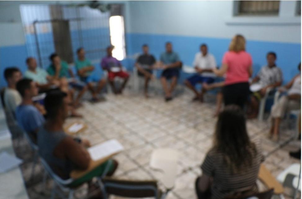 Grupo debaterá ações para qualificar a população carcerária do Presídio Estadual de Taquara Foto: Tuia Cezar/Divulgação-Presídio Estadual de Taquara