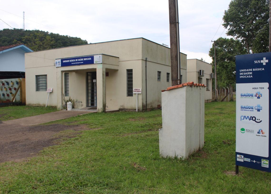 Posto Santo Antônio já recebeu as placas de identificação Foto: Lilian Moraes