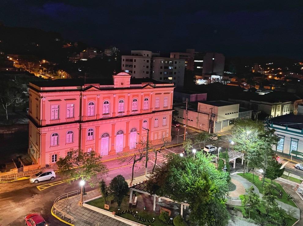 Construção do início do século XX ganhou destaque na região central da cidade Foto: Cris Vargas/Prefeitura de Taquara