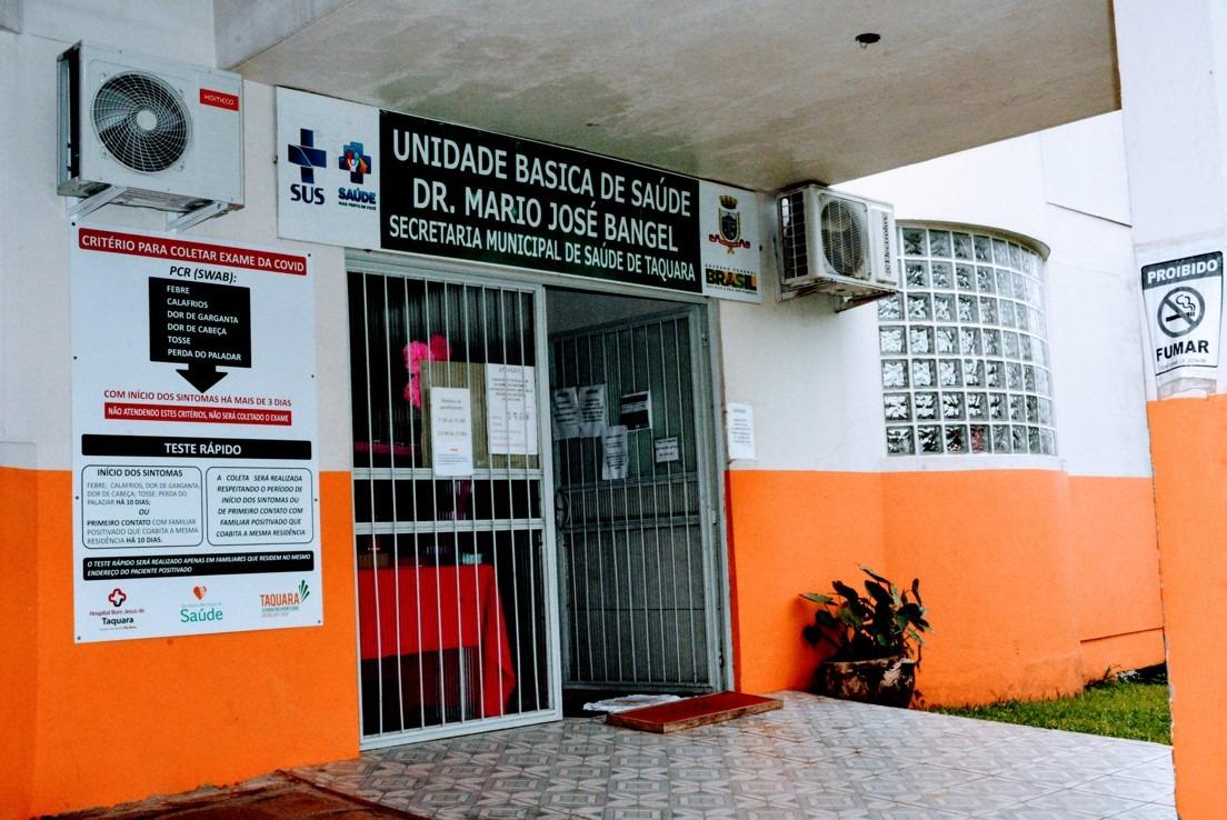 UBS Empresa será a primeira a receber os encontros Foto: Magda Rabie/Prefeitura de Taquara