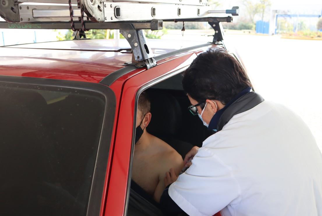 Evento de vacinação será das 8h às 14h Foto: Ruan Nascimento/Prefeitura de Taquara